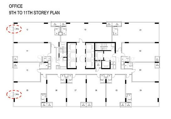 Centrium Square Floor Plans