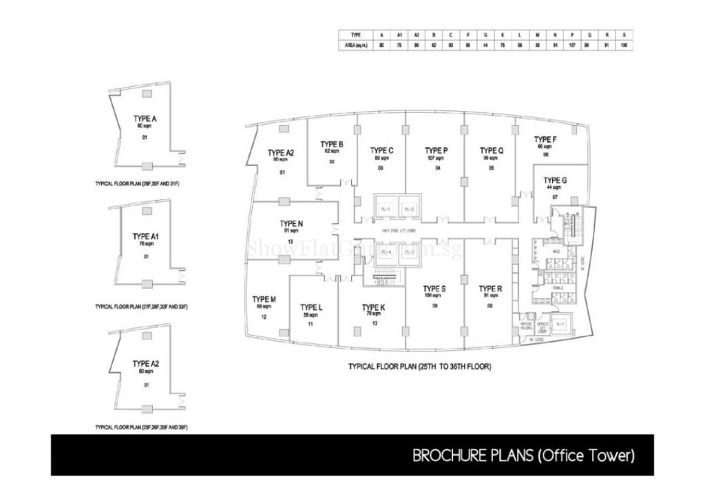 The Gateway Cambodia Office Floor Plan (4)