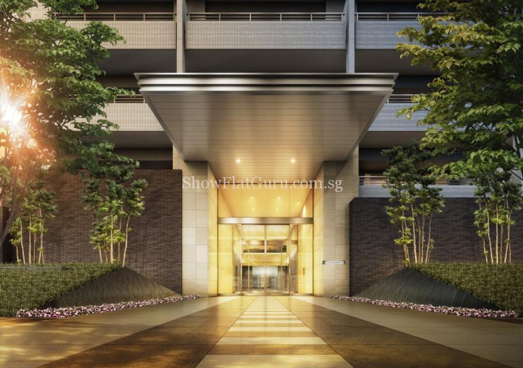 The Residence Higashi Entrance