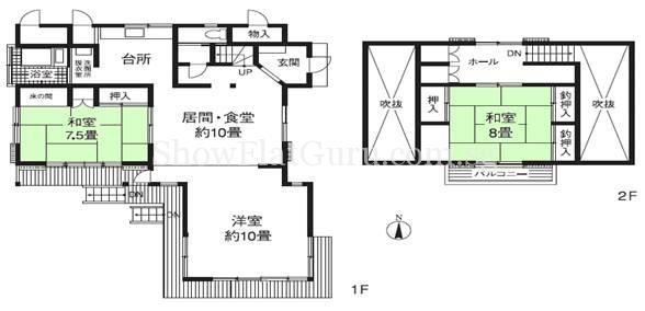 The Residence Higashi Mikuni Floor Plan