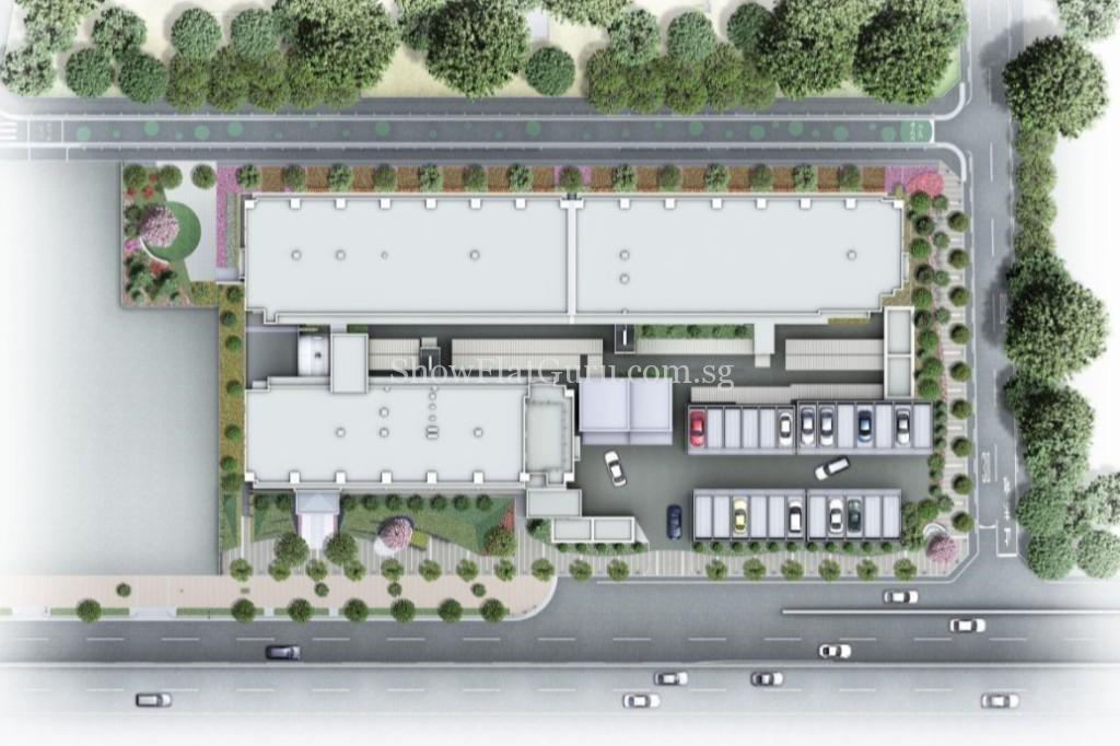 The-Residence-Higashi-Mikuni-Siteplan