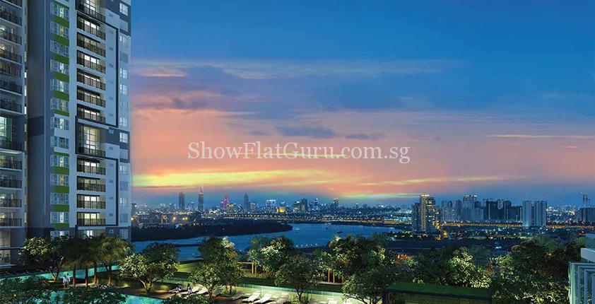 The Vista@Ho Chi Minh Terrace View