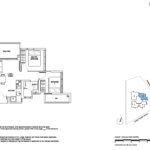 5 Derbyshire 2 bedroom floor plan type A1
