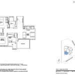 5 Derbyshire 2 bedroom floor plan type A3