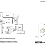 5 Derbyshire 2+Guest Floor Plan Type B