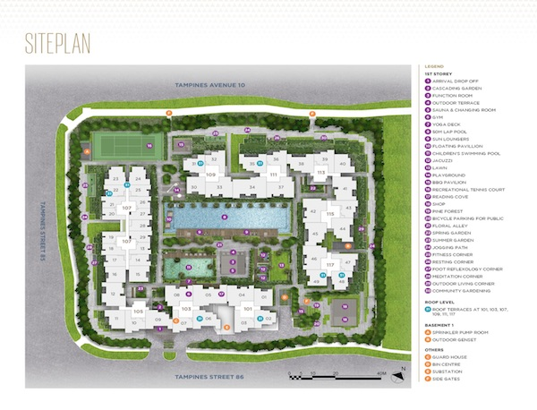Alps Residences Site-Plan