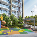 Children-Playround-at-The-Gazania-Bartley-MRT-Station-Singapore