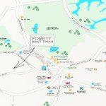 Forett-location-map