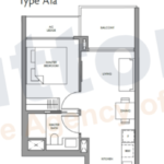 Fourth Ave Residences 1BR-1