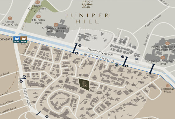 Juniper-Hill-Site-Plan-and-Schools-Location-Map