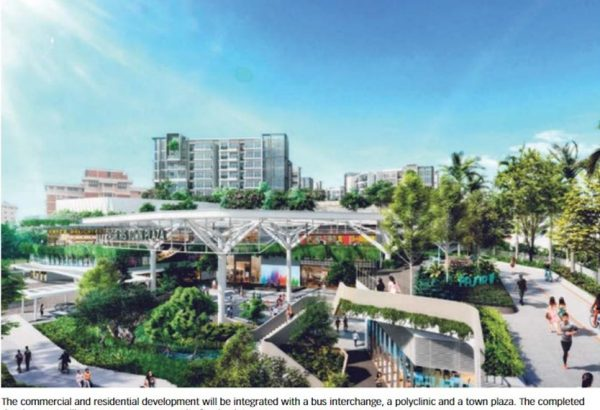 Mixed Development at Pasir ris central