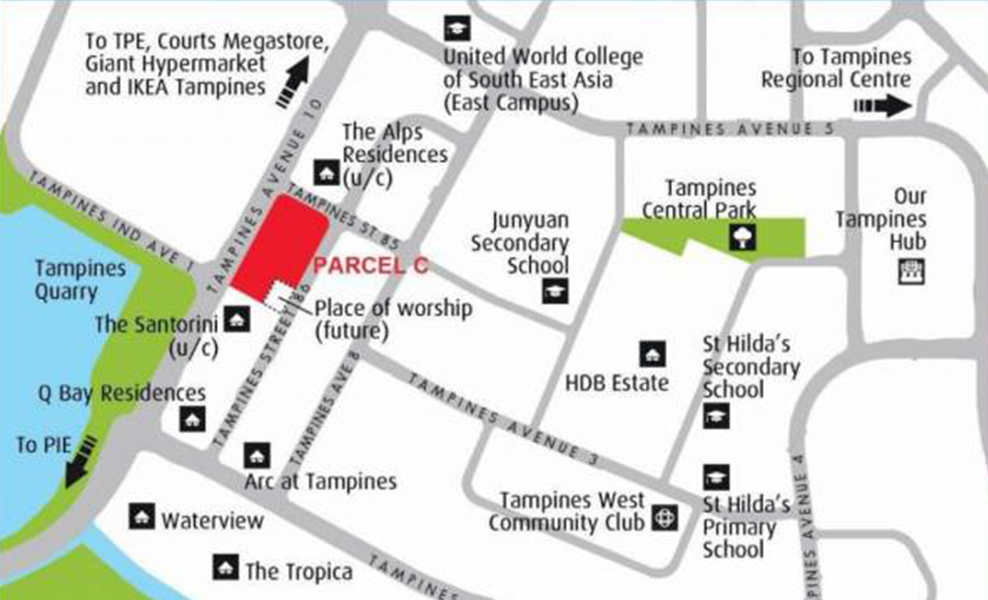 New-Launch-Condo-@-Tampines-Parcel