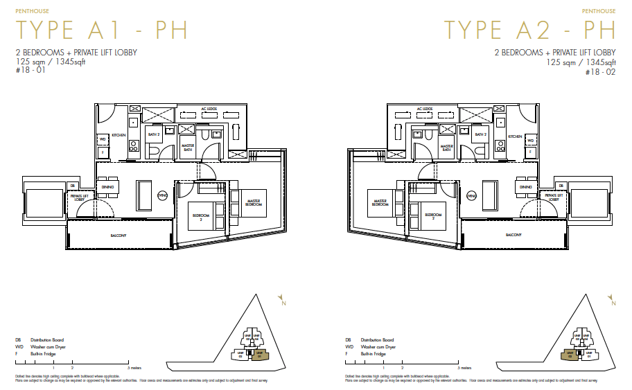 One Draycott Price And Floor Plan Site Plan Showflat Location