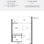 Seaside Residences Floor Plan 1 Bedroom Suites