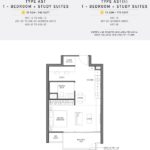 Seaside Residences Floor Plan 1 Study