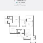 Seaside Residences Floor Plan 3 Bedroom Viva