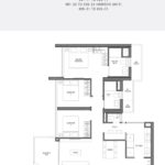 Seaside Residences Floor Plan 3 Study Viva