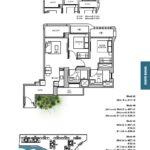 TRE VER floor plan 2 br