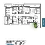 TRE VER floor plan 4 br