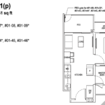Tapestry-tampines-CDL-1-bedroom-floor-plan
