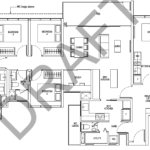 Tapestry-tampines-CDL-5-bedroom-dual-key-floor-plan