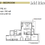 The-Addition-by-Oxley-2-bedroom-floor-plan
