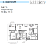The-Addition-by-Oxley-3-bedroom-floor-plan