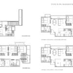 The Ramford floor plan penthouse 1