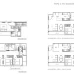 The Ramford floor plan penthouse