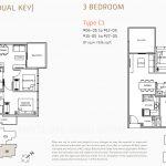 Verticus-Condo-Floor-Plans-3Bedroom-and-Dual-Key