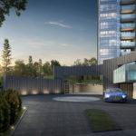 Wilshire Residences Condo-Entrance