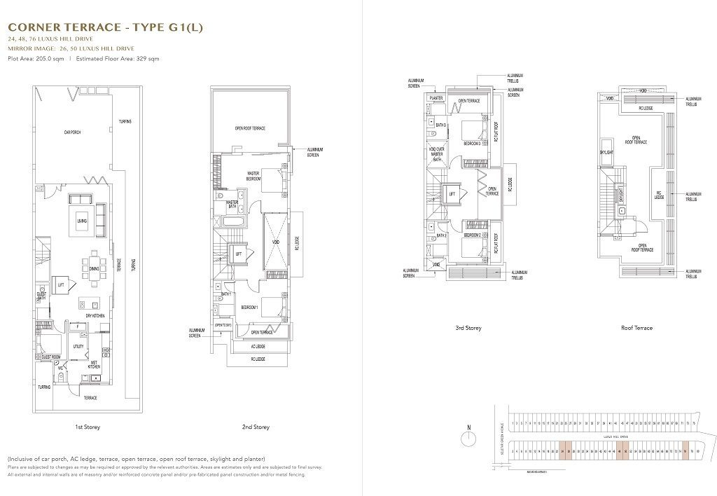 Luxus Hills Price Showflat Location I Hotline 65 6100 9963