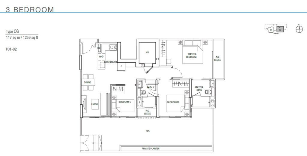 The Line Tanjong Rhu Price And Floor Plan Site Plan Location